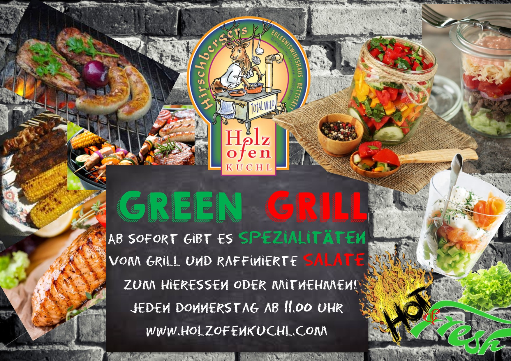 Green Grill - hot and fresh - coming soon