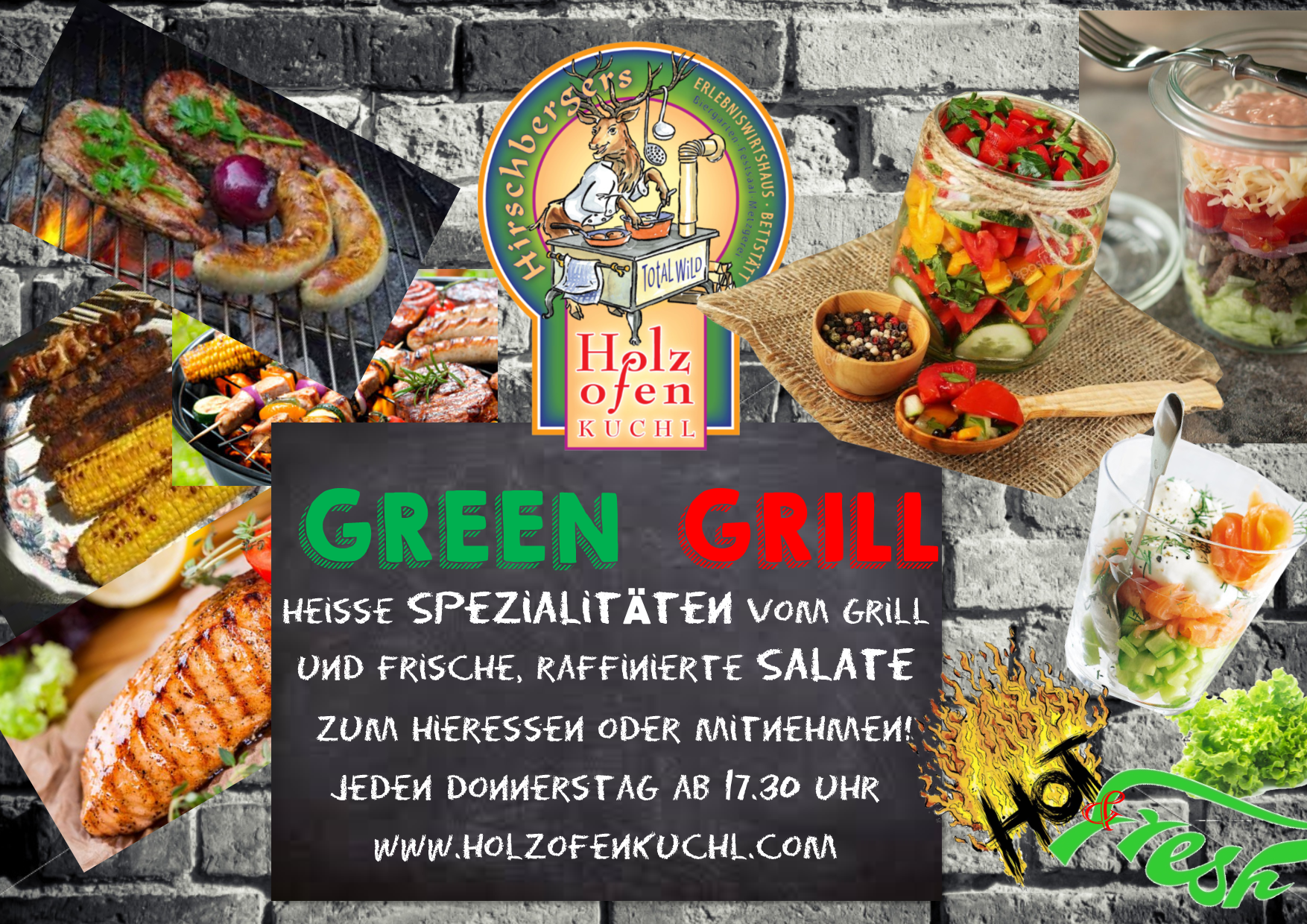 Green Grill - hot and fresh - jeden Donnerstag